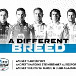 Three teams, five athletes, one Andretti banner