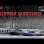 Live: Darlington Raceway Drivers Meeting   Darlington Raceway