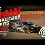 4K RAW GT3 TRACKSIDE & PITS  - IMOLA (no music)