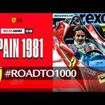 #RoadTo1000 - Spanish GP 1981