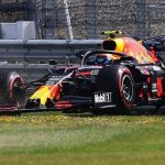 British Grand Prix: Alex Albon crashes as Lance Stroll tops second practice