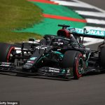 Lewis Hamilton claims SEVENTH Silverstone pole as world champion smashes track record to start ahead of team-mate Valtteri Bottas as Alex Albon's Red Bull woes continue