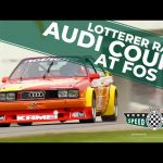 Audi Coupe's awesome five-cylinder sound at Goodwood