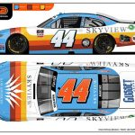 Throwback Colors For Martins At Road America
