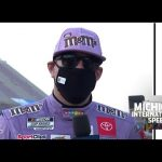 Kyle Busch on Kevin Harvick battle: 'Didn't get loose and turn up to the wall by myself'   NASCAR