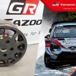 Win Elfyn Evans' rally-winning wheel rim!