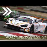 British GT qualifying recap: Donington Park