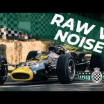 Glorious raw V8 sounds of the Lotus 38 at Goodwood