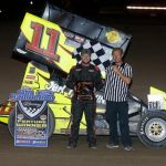 Zach Blurton Victorious on Final Night of Bob Salem Memorial with United Rebel Sprint Series