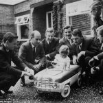 The day the dukes of Formula One turned up at future world champion Damon Hill's christening in 1961... but behind the smiles lies a tragic story as THREE of them would die racing, before his father Graham lost his life in a plane crash in 1975