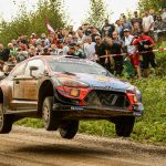 Tänak dominates Rally Estonia warm-up