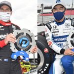 Power, Sato Drive to NTT P1 Awards for Bommarito Automotive Group 500