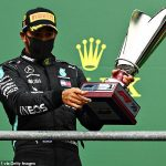 Lewis Hamilton warns F1 rivals he 'feels better than ever' after world champion eased to Belgian Grand Prix win to edge closer to matching Michael Schumacher's title haul