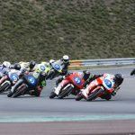 Ready to race: the NTC set out for the Sachsenring