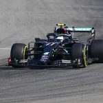 Valtteri Bottas beats Lewis Hamilton to top spot after first practice for the Italian Grand Prix as Max Verstappen crashes his Red Bull car's front wing at iconic Monza track