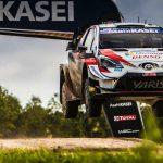 Ogier and Lappi tie in Rally Estonia opener
