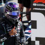Hamilton Earns 94th Formula One Pole
