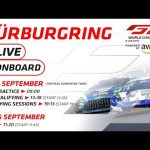 LIVE ONBOARD MIX - SATURDAY & SUNDAY - GTWC EUROPE - NURBURGRING