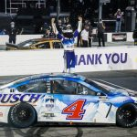 Harvick: 'It Felt Really Good' To Win With Fans