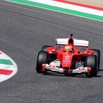 SLICK MICK Watch Mick Schumacher drives his dad's iconic Ferrari to mark famous Italian brand's 1000th F1 race