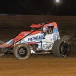 It's A Hand Full For Bacon In USAC Sprints