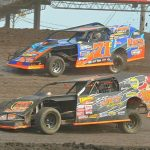 Four Collect IMCA Race Of Champions Trophies