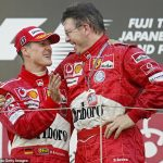 'I introduced him to people who thought he was despicable, horrible... but he's a lovely human': Ex-Ferrari chief Ross Brawn opens up on the secret side of 'intimidating' Michael Schumacher in new Sky documentary