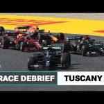 Safety Car Restarts, Smoking Brakes & More! | 2020 Tuscan GP F1 Race Debrief