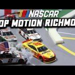 Brad Keselowski's dominance in stop motion: Stop Motion NASCAR From Richmond Raceway