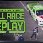 2012 Irwin Tools Night Race at Bristol Motor Speedway | NASCAR Classic Full Race Replays