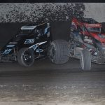 Ruble Survives For First USAC Sprint Car Victory
