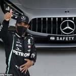What DRAMA! Lewis Hamilton on pole for Russia GP as Sebastian Vettel crash forces red flag which almost dumps the Brit out of Q2... as Max Verstappen beats Valtteri Bottas to front-row
