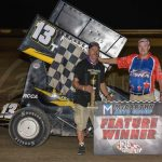 Alan Truscinski Triumphs in POWRi Lightning Sprint League Battle at I-35 Speedway