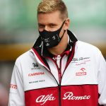 'It's a shame. My mum is here and she would have loved to see me drive': Michael Schumacher's son Mick rues missing out on his first taste of F1 after bad weather puts paid to first two Eifel Grand Prix practice sessions