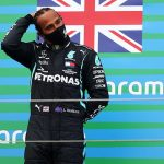 Lewis Hamilton vows to keep breaking records until he 'turns grey' after equalling Michael Schumacher's 91 Formula One victories and the Mercedes star admits it will be 'difficult' to leave the sport