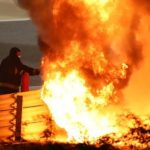 Romain Grosjean: Haas driver suffers burns after huge Bahrain GP crash and fire