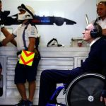 Sir Frank Williams 'stable' after going in hospital, says family in statement