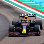 Max Verstappen wins chaotic Emilia Romagna Grand Prix ahead of Lewis Hamilton after the Brit collided with his Red Bull rival and later spun off the track in rain-affected second race of the season