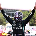 Lewis gives Max a Spanish lesson: Hamilton roars back from early setback to cruise past title rival Verstappen and claim a record fifth successive win in Barcelona