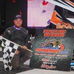 Dexter Dvergsten Doubles Down in POWRi Minn-Kota Lightning Sprint Weekend Wins
