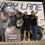 Eric Wilkins Earns POWRi Desert Wing Sprint Series Feature Win at Vado