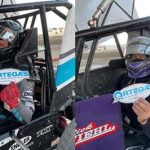Rick Ziehl and Colton Hardy Win Weekend POWRi Desert Wing Sprint Races at Aztec