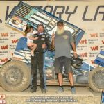 Lorne Wofford Repeats in POWRi Vado Super Sprint Feature Victories