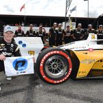 Qualifying Ace: Newgarden Makes it Three in a Row