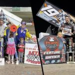 Wes Wofford & Rick Ziehl Win POWRi Desert Wing Sprint Events at Aztec Speedway