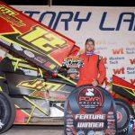 Josh Grady Doubles Down on POWRi Desert Wing Sprint Series Weekend Wins
